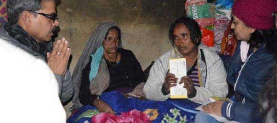 NTPC starts disbursal of compensation to families of deceased Tapovan workers