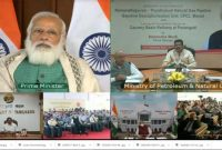 PM dedicates to the nation and lays foundation stone of key projects of oil and gas sector in Tamil Nadu