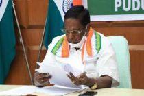 Puducherry CM resigns as Cong-led govt falls ahead of floor test