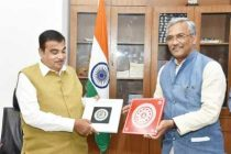 U'khand CM meets Gadkari, thanks him for help in road connectivity
