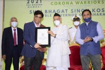 HPCL felicitated for rendering Humanitarian Services during Covid-19 Pandemic