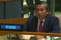 Myanmar envoy to UN defies military regime, denounces coup
