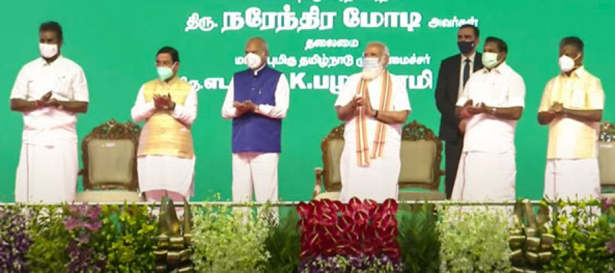 PM dedicates 1000 MW Neyveli New Thermal Power Station and 709 MW Solar Projects to the Nation