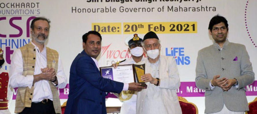 REC Limited conferred the 'CSR Shining Star Award'