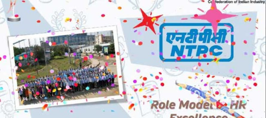 NTPC conferred with 'Role Model' award at 11th CII National HR Excellence Award 2020-21