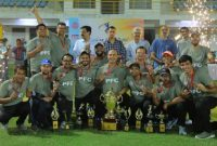 PFC secured 2nd runner-up position in Power Cup 2021 T-20 Cricket Tournament