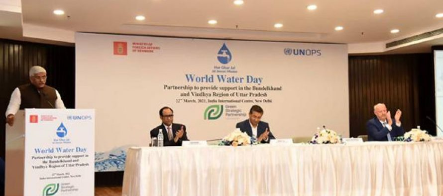 United Nations Office for Project Services partners with Government of Denmark to support Jal Jeevan Mission in Bundelkhand& Vindhya region of UP