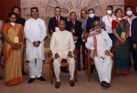 President of India Visits IndianOil Foundation Trust Interpretation Centre at Konark
