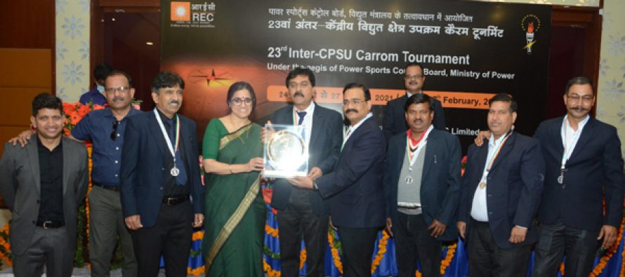 REC successfully hosts 23rd Inter–CPSU Carrom Tournament