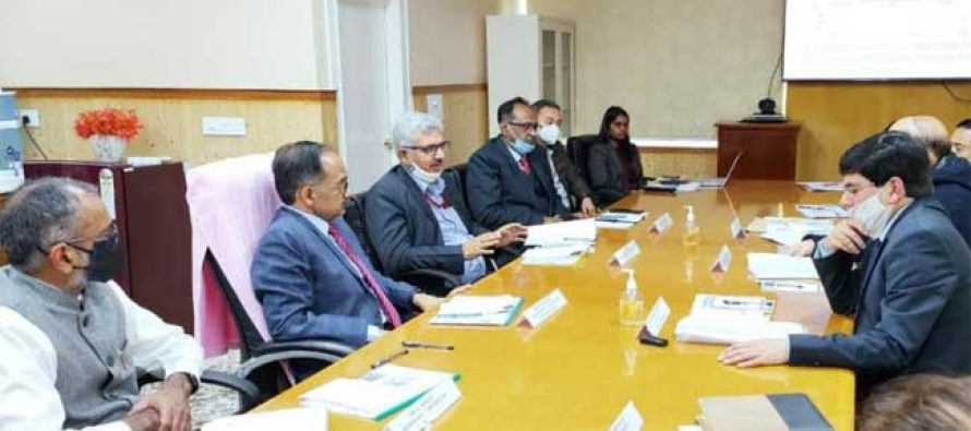 Secretary (Power), Govt. of India and CMD, NHPC meet Chief Secretary of Sikkim and visit NHPC's 510 MW Teesta-V and 500 MW Teesta VI Project