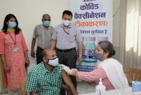Large scale Covid vaccination drive carried out by NHPC