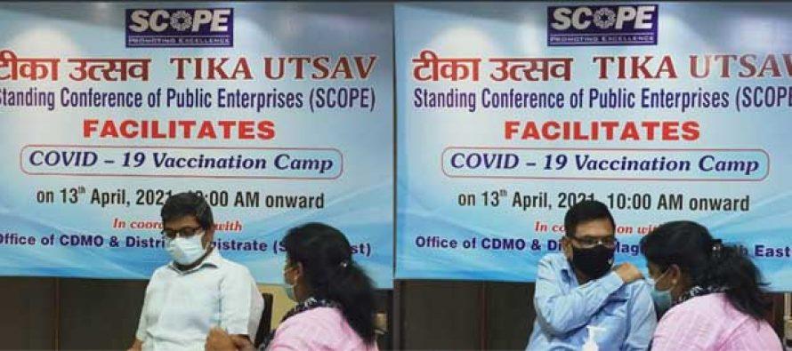 SCOPE organizes 'Tika Utsav' – COVID 19 Vaccination Drive