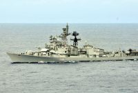 Indian Naval Ship INS RANVIJAY to dock in Colombo on a goodwill visit