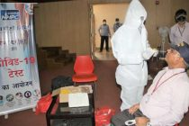NHPC conducts Covid – 19 test camp at NHPC Corporate Office