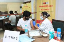 REC organizes Covid-19 vaccination camp