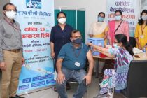 NHPC conducts Covid – 19 test and vaccination camp at NHPC Corporate Office