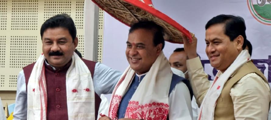 Himanta Biswa Sarma to take charge as 15th Assam CM
