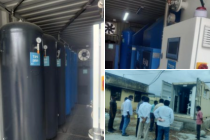 Oxgyen generator given by Israel up and running at Kolar KGF Hospital, Karnataka