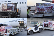 Australia supports India : consignment of 60 oxygen concentrators, 1056 ventilators and other medical supplies arrives from Australia