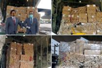 Oman supports India : sends shipment of ventilators,vital medicines and medical equipments