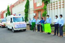 NLCIL  extends support to District Administration, Cuddalore, Hands over 10 BLS Ambulances to meet COVID exigencies