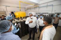 Pradhan opens 270-bed Covid Care Centre at JSPL plant in Angul