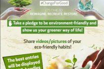 GAIL's launches #ChangeForGood awareness initiative onWorld Environment Day 2021