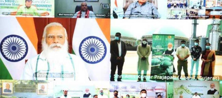 Ethanol among India's major priorities of 21st century : PM Modi