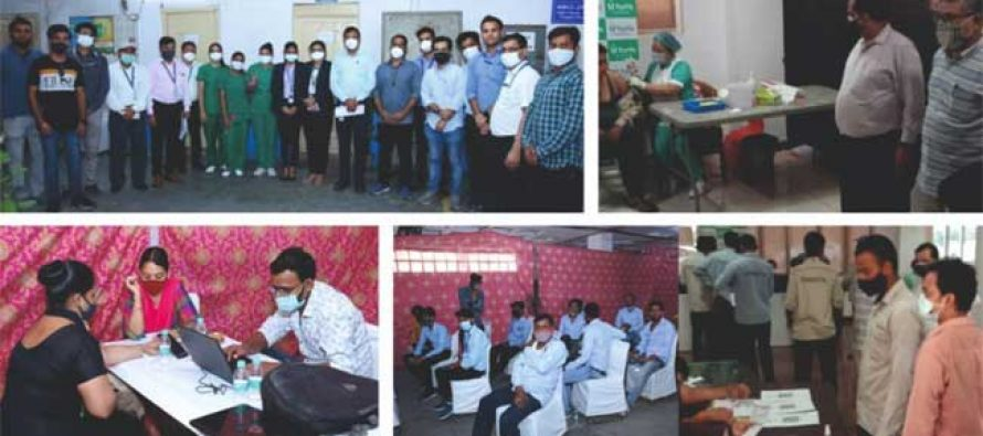 NBCC WITH NSL VACCINATED OVER 600 CONSTRUCTION WORKERS