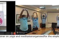 Balmer Lawrie celebrates the 7th International Day of Yoga