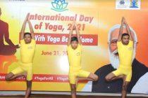 DVC OBSERVED 7TH INTERNATIONAL YOGA DAY