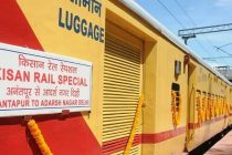 Farmers in India getting nation wide access of market as Kisan Rails carry 2.7 lakh Tonnes of consignments.  60 Routes operationalised till now