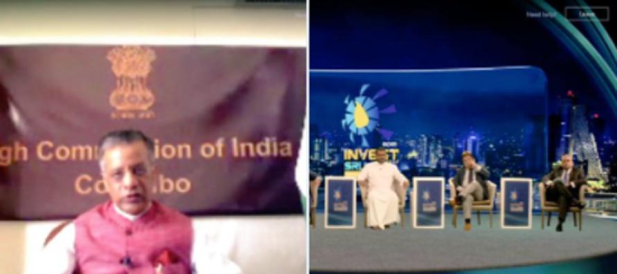 Indian HC Gopal Baglay emphasises future of economic and commercial bilateral partnership at Sri Lanka Investment Forum 2021
