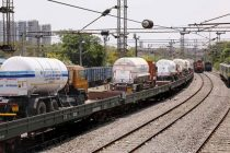 Oxygen Expresses cross the milestone of 35000 MT of LMO delivery in service to the Nation