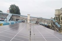 New solar roof raises Vijayawada station's solar capacity to 130 kWp