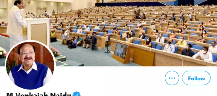 Twitter restores verified blue tick of Vice Prez's personal handle