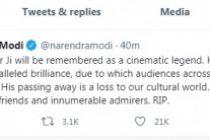 Dilip Kumar was a cinematic legend: PM Modi
