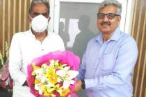 CMD, NHPC meets Minister of State for Power and Heavy Industries, Govt. of India