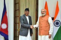 Modi assures Covid vaccine supply to Nepal