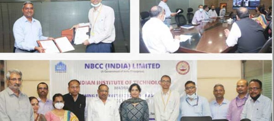 NBCC INKSMoU WITH IIT MADRAS