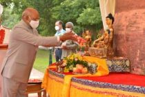 Buddhist values will address issues of global concern: President