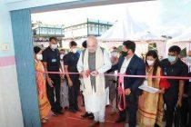 Home Minister Amit Shah inaugurates Inter-State Bus Terminal at Shillong, Meghalaya