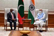UNGA President-elect Abdulla Shahid meets Modi