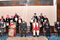 PRESIDENT OF INDIA GRACES THE 19TH ANNUAL CONVOCATION OF UNIVERSITY OF KASHMIR