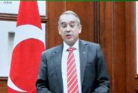 H.E. Mr. Firat Sunel, Ambassador of the Republic of Turkey presenting credentials to President of India