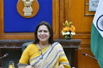 Meenakshi Lekhi takes charge as new MoS MEA and Culture