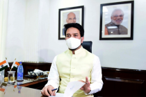 My endeavour is to work with all media heads: Anurag Thakur