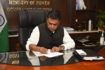 Raj Kumar Singh takes charge as Cabinet Minister of Power and New & Renewable Energy
