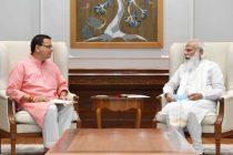 Uttarakhand CM Pushkar Singh Dhami calls on President, Prime Minister and Home Minister