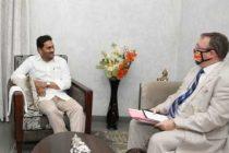 Jagan seeks British investments in Andhra Pradesh